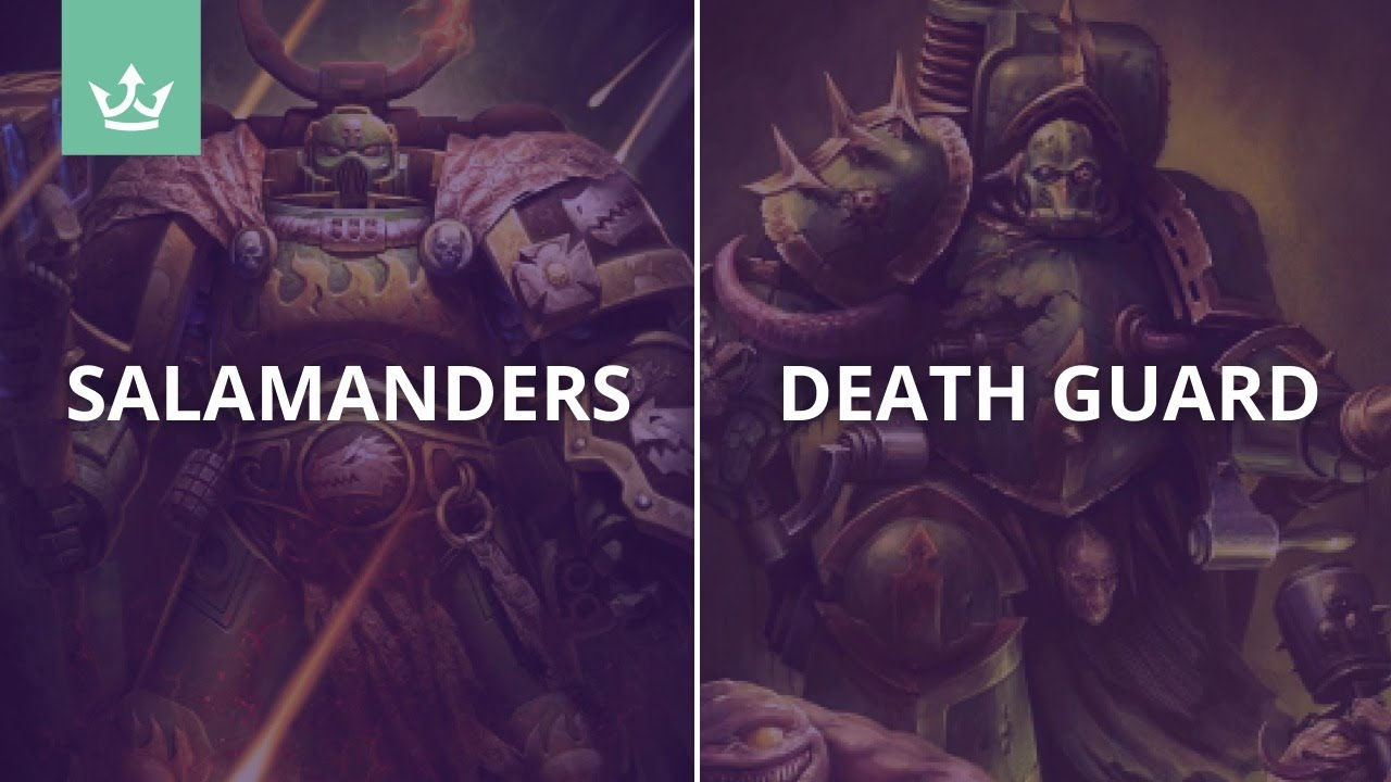 Salamanders vs Death Guard - 9th edition 40k battle report