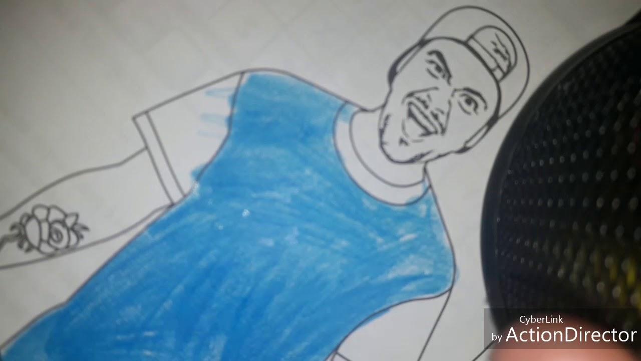 Pintando O Desenho Do Luccas Neto Youtube