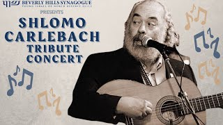 Shlomo Carlebach Tribute Concert - November 1st, 2020