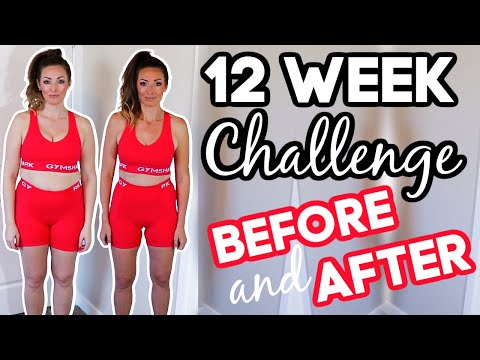 12 Week WEIGHT LOSS Transformation // Before and After 25 lb. Weight Loss Photos