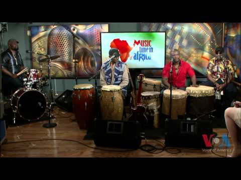 Jabali Afrika with Heather Maxwell on Music Time in Africa