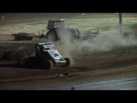 Eddie Strada wins at Hamlin Speedway 8/27/16