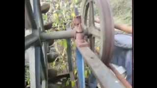 Pelton Water Wheel Hydro Electricity Generator Barn Find
