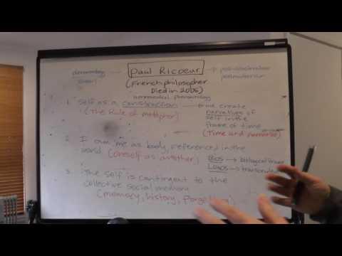 Paul Ricoeur and his core ideas