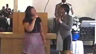 Sis Rene and Chundra Singing Heaven