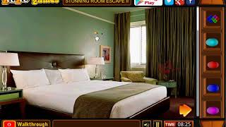 Stunning Room Escape II | zoozoogames walkthrough | escape games new