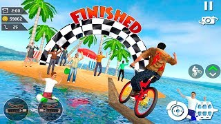 Waterpark Bicycle Surfing - BMX Cycling 2019 - bicycle game