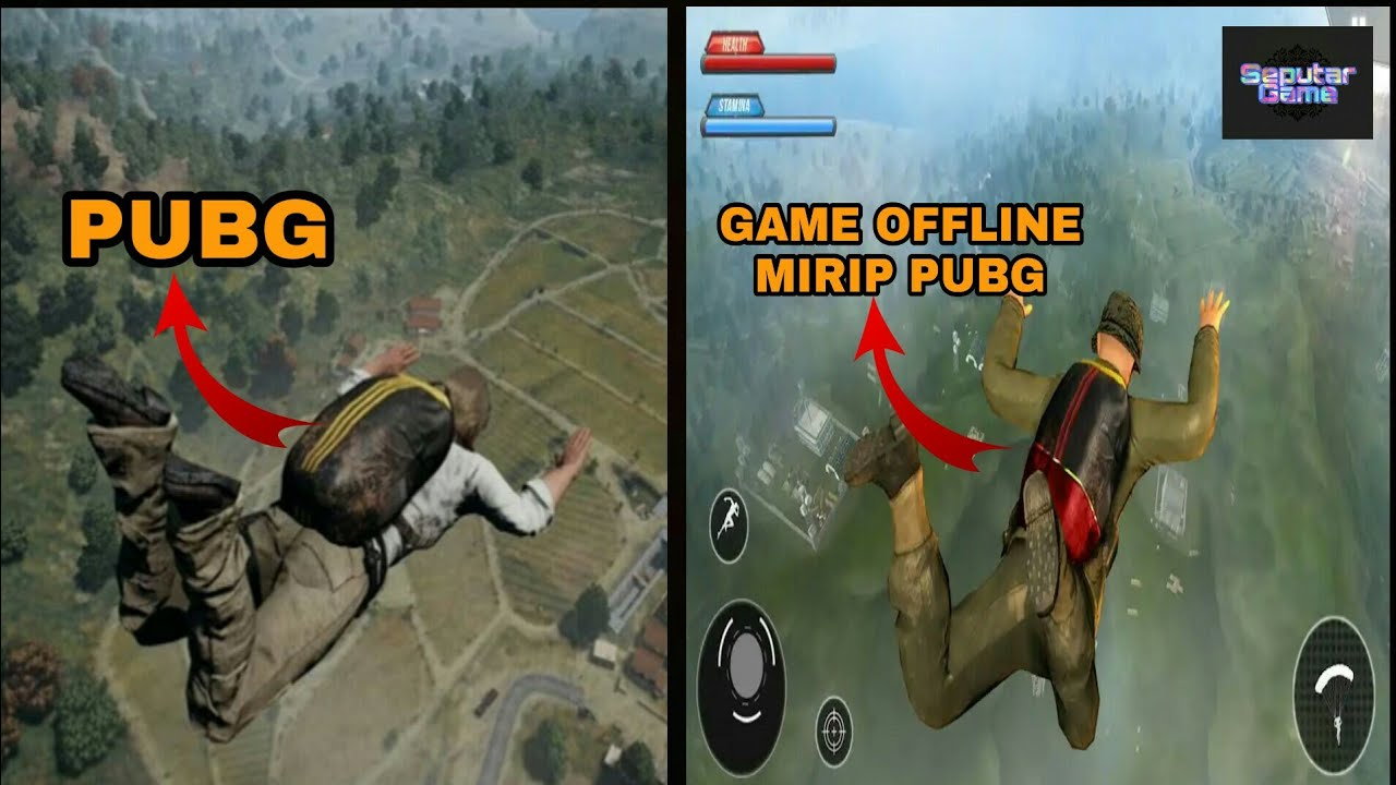 game offline sejenis pubg android