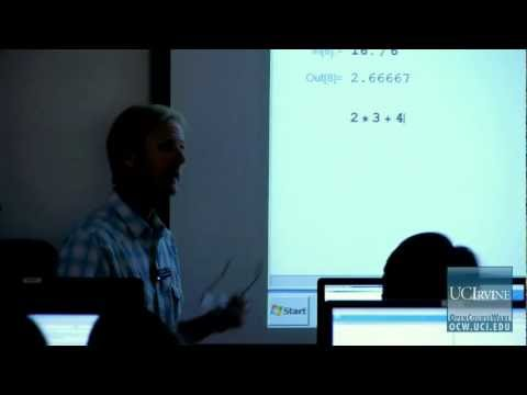 Scientific Computing Skills 5. Lecture 01.