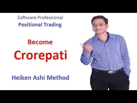 [Hindi]How to become Crorepati in share market? Simple Heiken Ashi Method.