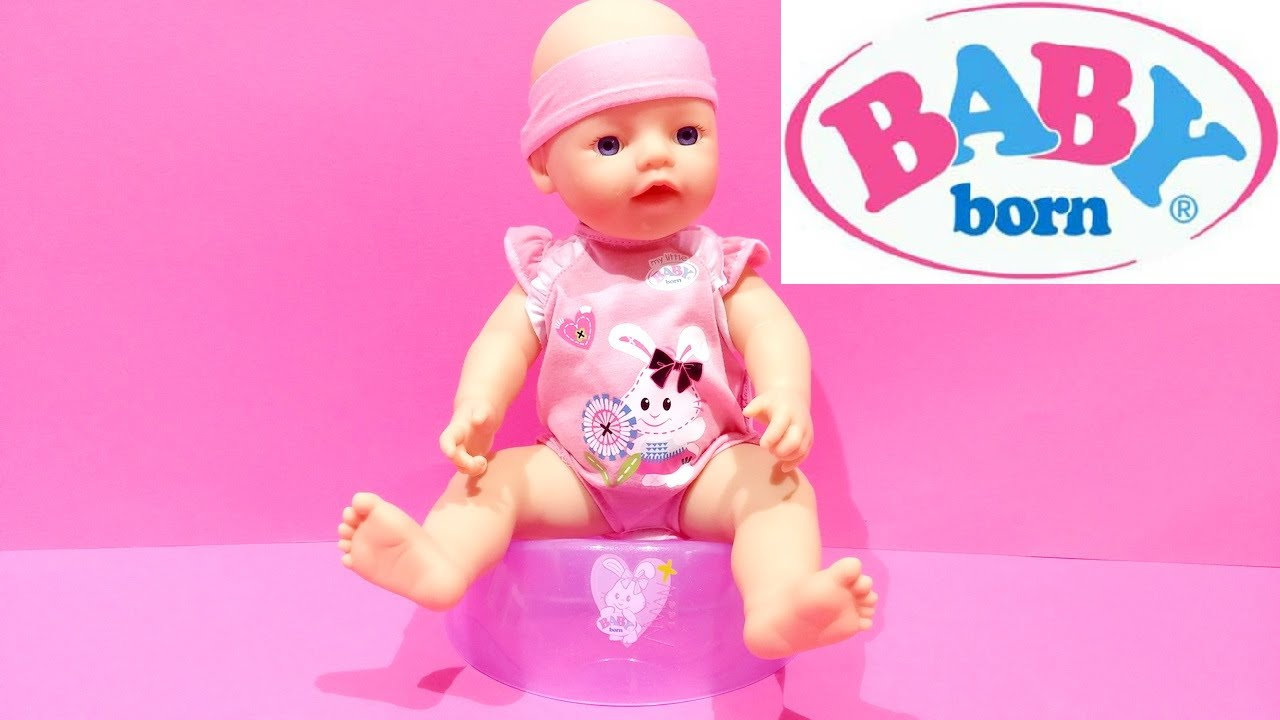 My Little Baby Born Interactive Doll Happy Time ★ Zapf