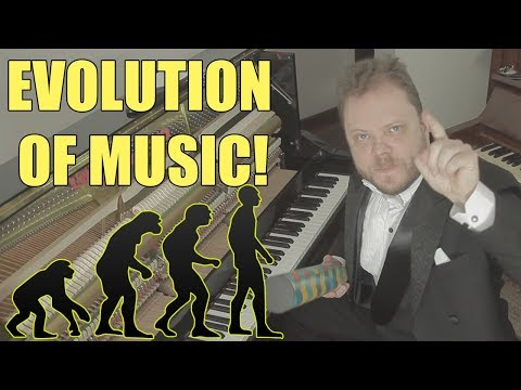 Evolution of Music  1680 AD  2017