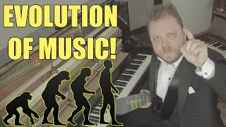 Evolution of Music ( 1680 AD - 2017)