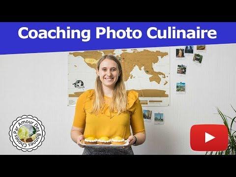 Photographie culinaire avec