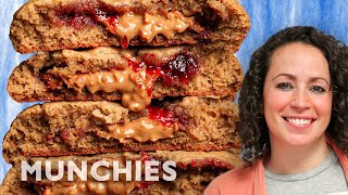 Peanut Butter & Jelly Cookies - The Cooking Show