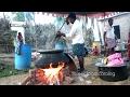 Amazing Cooking Village Style Sambar Recipe Prepared 500 People Hindu Function | Street Food Catalog