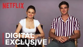Joey King & Jacob Elordi American vs. Australian Word Battle | The Kissing Booth | Netflix streaming