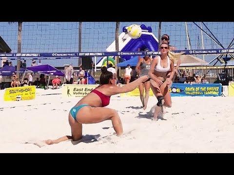 Beach Volleyball Girls | Finals | Clearwater Beach, FL