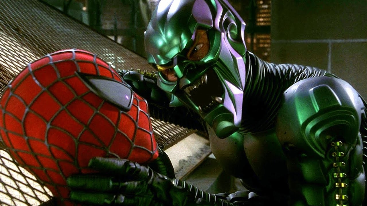 Infinity Sign Wallpaper Hd The Green Goblin Proposal Rooftop Scene Spider Man