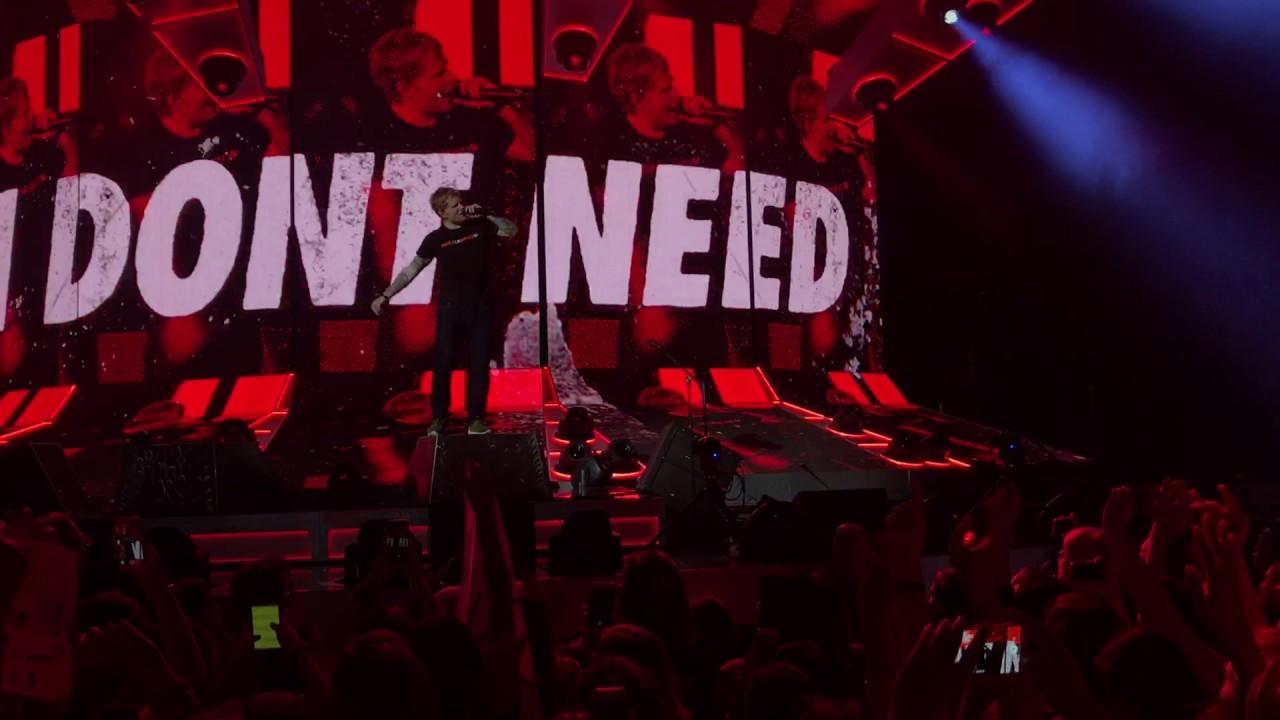 Ed Sheeran  You Need Me, I Don't Need You (Live in Berlin ...