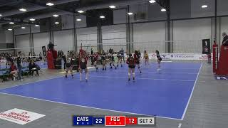 Volleyball Canada National Championship 16U Girls FOG Ice vs Cats South thumbnail