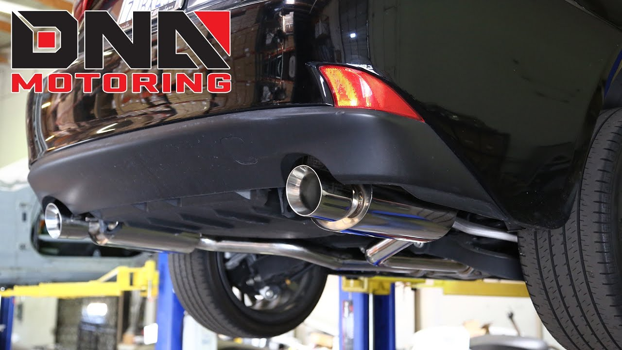 how to install 14 15 lexus is250 catback exhaust