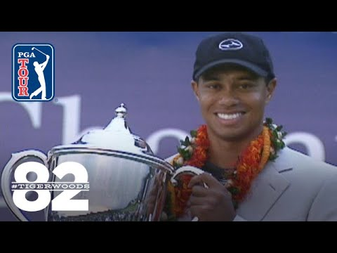 Tiger Woods Wins 2000 Mercedes Championships | Chasing 82