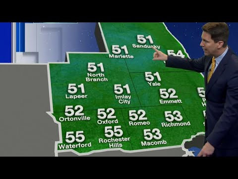 Metro Detroit weather brief, 8/30/2019, 5 p.m. update