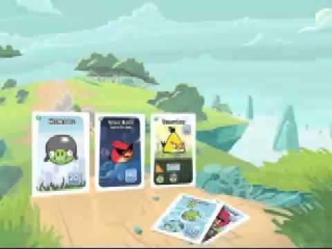 Juego de Cartas Angry Birds  YouTube
