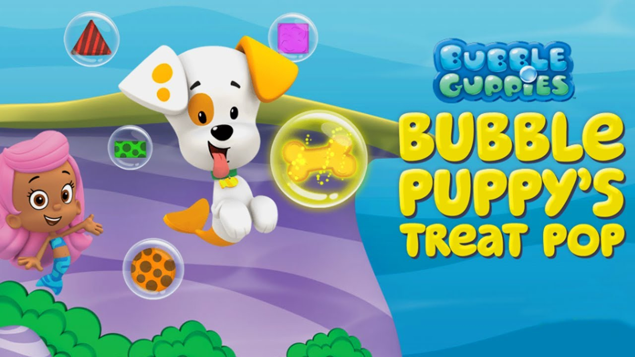 Bubble guppies bubble puppy treat pop game youtube - Bubulles guppies ...