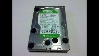 Ремонт жесткого диска Western Digital WD 3000Gb Green после перепада питания. Не раскручивается