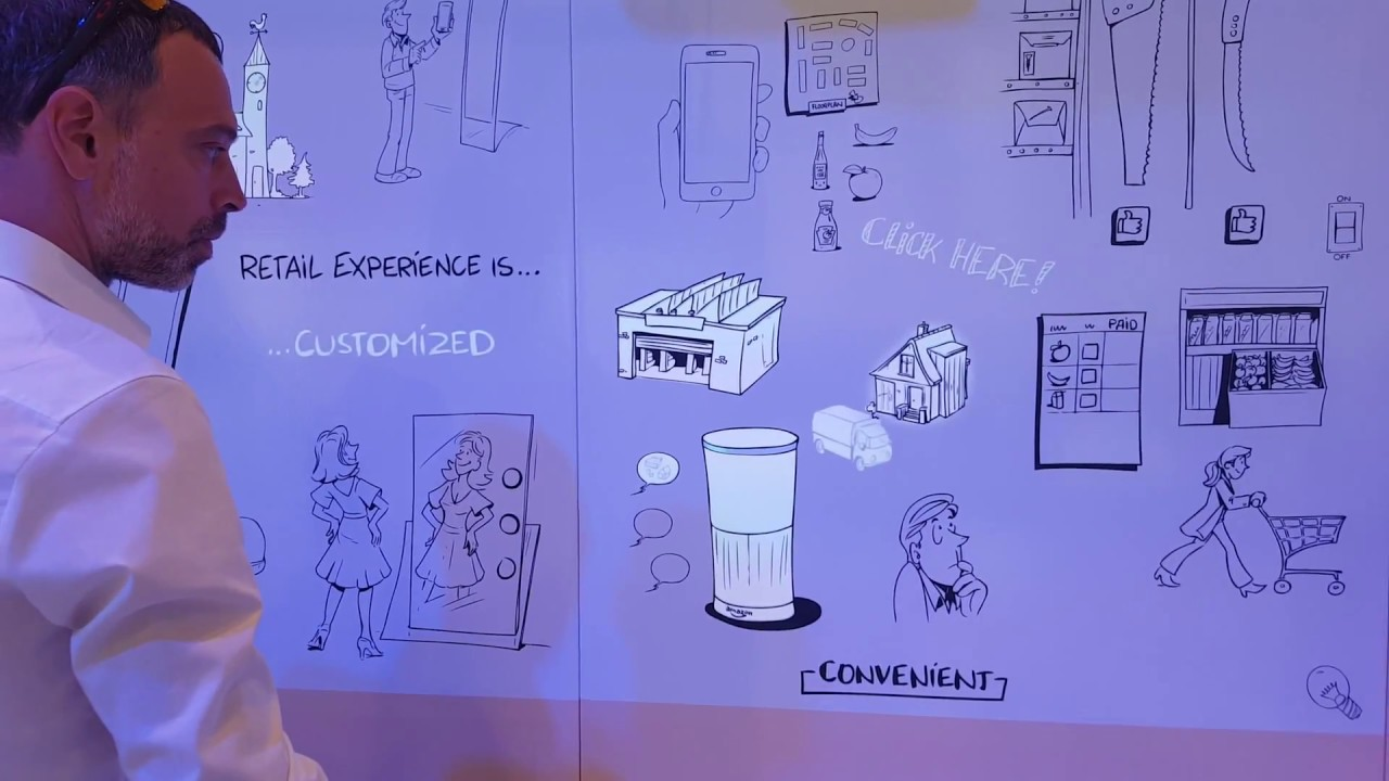 Sungard Exhibition Stand Mixer : Messestand mit interaktivem projection mapping youtube