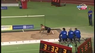 Bernard Lagat 7:34.70 3000m IAAF Indoor Karlsruhe MIR-LA.com