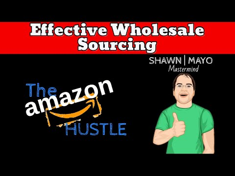 Effective Wholesale Sourcing Learn How The Pros Source OA The Easy Way - Amazon FBA Online Business