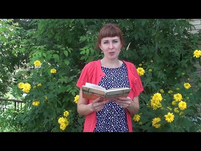 Изображение предпросмотра прочтения – АннаМаслова читает произведение «Август — астры…» М.И.Цветаевой