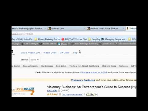Passive Income from selling books on Amazon: 20-100 dollars a week