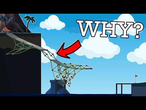 This could cost me my JOB!!! Real Civil Engineer plays Poly Bridge 2  