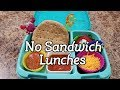 FUN Sandwich Free Bento Lunches + What She Ate - Lunch Collab! - Bento School Lunches - 33rd week