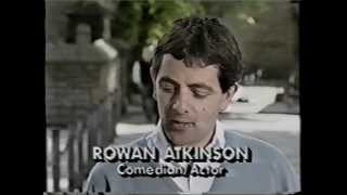 Rowan Atkinson interview about Blackadder & Mr. Bean on Good Morning America 5/15/90