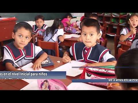 DRESM amplía las matrículas para niños de 03 años nivel inicial