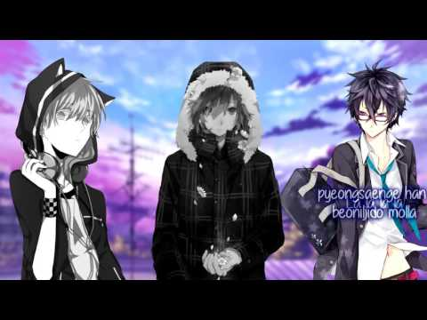 【Nightcore】Hard Carry/Lotto/Blood Sweat & Tears (Switching Vocals)