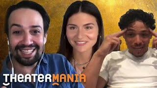 TheaterMania Interviews Hamilton's Lin-Manuel Miranda, Anthony Ramos, Phillipa Soo, and More