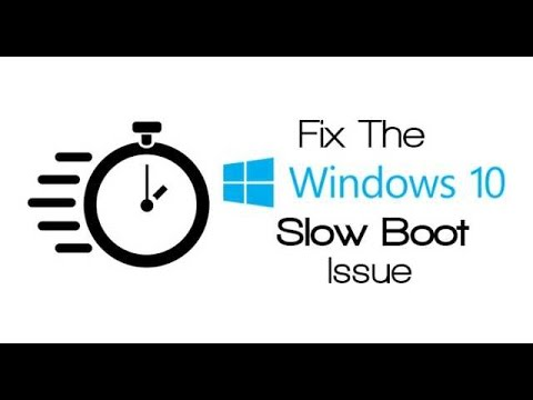 FIX WINDOWS 10 SLOW STARTUP BOOT AFTER UPGRADE (AMD GRA