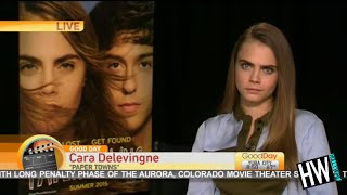 Video WTF! Cara Delevingne's Painfully Awkward TV Interview! download MP3, 3GP, MP4, WEBM, AVI, FLV Juni 2018
