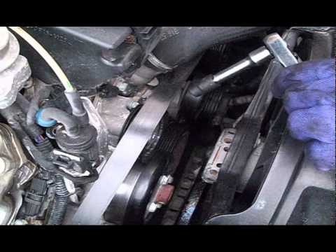 DIY Change Serpentine Poly V Drive Belt and tensioner on Mercedes Benz by MercedesMedic.com