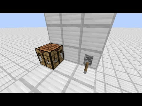 how to make a table in minecraft ps3