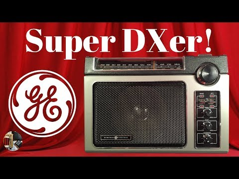 Radio Waves #64: Super DXer! GE Superadio 7-2880B AM FM Radio Review