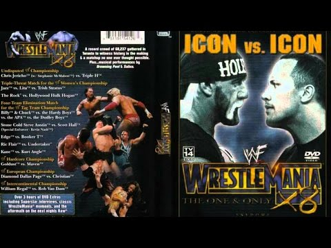 """WWE Wrestlemania X8 (18) Review :: """"The One & Only"""" :: The Rock & Hulk Hogan Steal The Show!"""