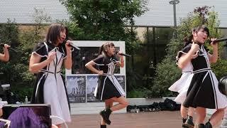 イオン岡山haremachi ガーデンでの山活ライブ映像 ♪ RUN.