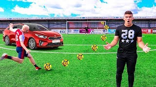 BEAT ME, WIN THIS CAR FOOTBALL CHALLENGE!